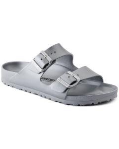 BIRKENSTOCK Arizona EVA Women's Narrow Width Sandals in Silver