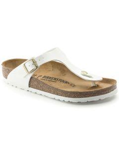 BIRKENSTOCK Gizeh Birko-Flor Women's Regular Width Sandals in White
