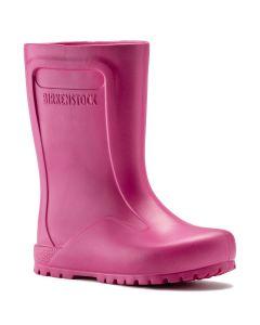 BIRKENSTOCK Derry EVA Kids Regular Width Rain Boots in Neon Pink