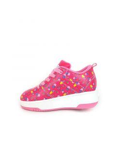 HEELYS Pop Strive Roller Sneaker in Hot Pink