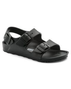 BIRKENSTOCK Milano Kids Essentials EVA Narrow Width Sandals in Black