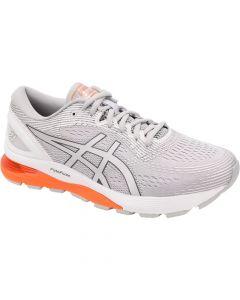 ASICS GEL-NIMBUS 21 Men's Running Shoe in Mid Grey/White