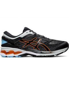 ASICS GEL-KAYANO 26 Men's Running Shoe in Black/Polar Shade