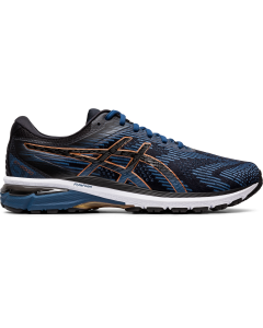 ASICS GT-2000 8 (2E) Men's Running Shoe in Grand Shark/Black