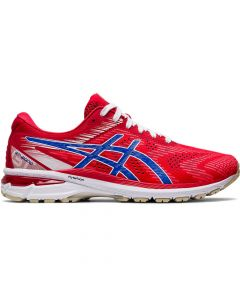 ASICS GT-2000 8 Men's Running Shoe in Classic Red/Electric Blue