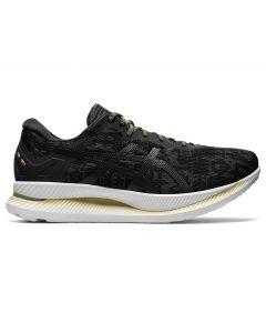 ASICS GLIDERIDE Men's Running Shoe in Black/Graphite Grey