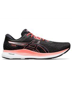 ASICS EVORIDE TOKYO Men's Running Shoe in Black/Sunrise Red