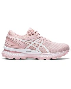 ASICS GEL-NIMBUS 22 Women's Running Shoe in Ginger Peach/White