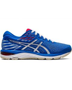 ASICS GEL-CUMULUS 21 Women's Running Shoe in Electric Blue/White