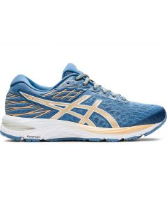 ASICS GEL-CUMULUS 21 Women's Running Shoe in Grey Floss/Champagne