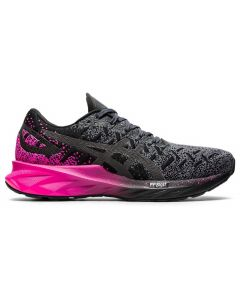 ASICS DYNABLAST Women's Running Shoe in Black/Pink Glo