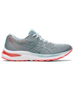 ASICS GEL-CUMULUS 22 Women's Running Shoe in Piedmont Grey/Light Steel