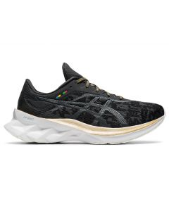 ASICS NOVABLAST Women's Running Shoe in Black/Graphite Grey