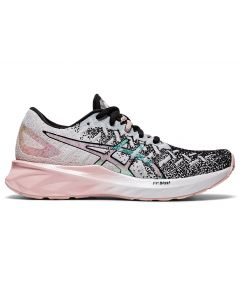 ASICS DYNABLAST Women's Running Shoe Standard Width in White/Ginger Peach