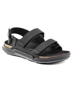 BIRKENSTOCK Tatacoa Birko-Flor Men's Regular Width Sandals in Futura Black