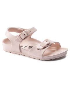 BIRKENSTOCK Rio Essential EVA Kids Narrow Width Sandals in Rose