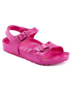 BIRKENSTOCK Rio Essential EVA Kids Narrow Width Sandals in Beetroot Purple