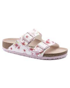 BIRKENSTOCK Arizona Birko-Flor Women's Regular Width Sandals in Blossom White