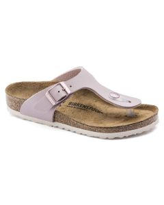 BIRKENSTOCK Gizeh Birko-Flor Kids Regular Width Sandals in Lavendar Blush