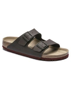 BIRKENSTOCK Arizona Birko-Flor Unisex Regular Width Sandals in Desert Soil Roast