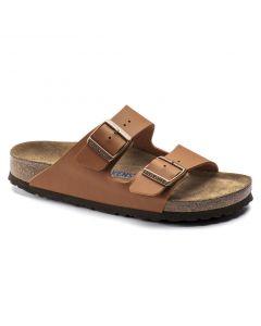 Birkenstock Arizona SFB BF Regular Width Sandals in Ginger Brown