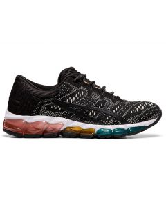 ASICS GEL-QUANTUM 360 5 JCQ Women's Sportstyle Shoe in Black/Putty