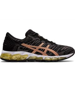 ASICS GEL-QUANTUM 360 5 JCQ Women's Sportstyle Shoe in Black/Rose Gold