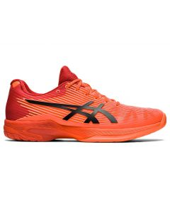 ASICS SOLUTION SPEED FF TOKYO Men's Tennis Shoe in Sunrise Red/Eclipse Black