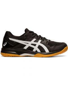 ASICS GEL-ROCKET 9 Men's Volleyball Shoe in Black/White