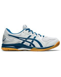 ASICS GEL-ROCKET 9 Men's Volleyball Shoe in Glacier Grey/Mako Blue