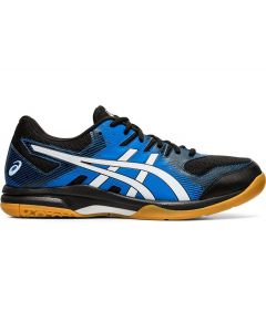 ASICS GEL-ROCKET 9 Men's Volleyball Shoe in Black/Directoire Blue
