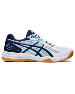 ASICS UPCOURT 4 Men's Volleyball Shoe in White/Peacoat