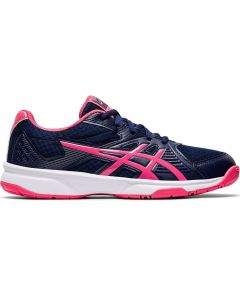 ASICS UPCOURT 3 Women's Netball Shoe in Peacoat/Pink Cameo