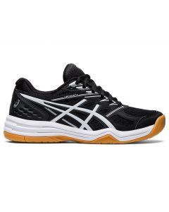ASICS UPCOURT 4 Women's Volleyball Shoe in Black/White