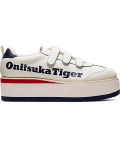 ONITSUKA TIGER Delegation Chunk W Unisex Shoe in Cream/Peacoat