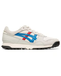 ONITSUKA TIGER Horizonia Unisex Shoe in Cream/Directoire Blue