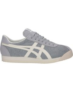 ONITSUKA TIGER Corsair Unisex Shoe in Mid Grey/Cream