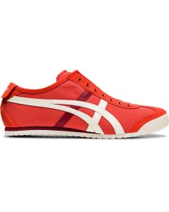 ONITSUKA TIGER Mexico 66 Slip-on Unisex Shoe in Red Snapper/Birch