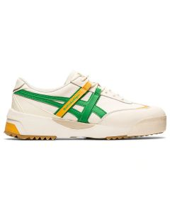 ONITSUKA TIGER Delegation Ex Unisex Shoe in Cream/Cilantro