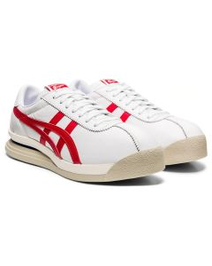 ONITSUKA TIGER Corsair EX Unisex Shoe in White/Classic Red