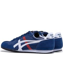 ONITSUKA TIGER Serrano Unisex Shoe in Indepedence Blue/White