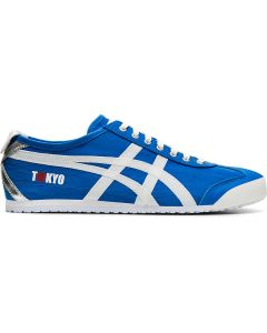 ONITSUKA TIGER Mexico 66 Unisex Shoe in Directoire Blue/White