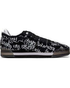 ONITSUKA TIGER Kamo Trainer Unisex Shoe in Black/White