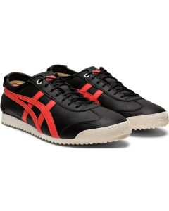 ONITSUKA TIGER Mexico 66 SD Women's Shoe in Black/Red Snapper