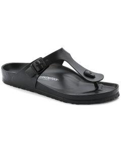 BIRKENSTOCK Gizeh EVA Unisex Regular Width Sandals in Black