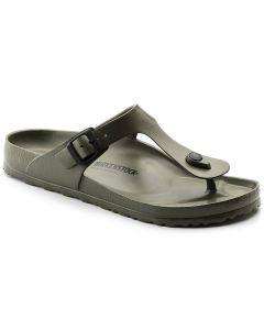 BIRKENSTOCK Gizeh EVA Unisex Regular Width Sandals in Khaki