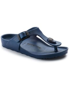 BIRKENSTOCK Gizeh EVA Kids Narrow Width Sandals in Navy