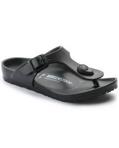 BIRKENSTOCK Gizeh EVA Kids Narrow Width Sandals in Black
