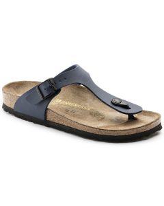 BIRKENSTOCK Gizeh Birko-Flor Unisex Regular Width Sandals in Blue