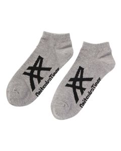 ONITSUKA TIGER Ankle Sock Unisex in Feather Grey